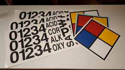 NFPA Labels, Stickers, Tags, Placards and Signs Decal Racine Kenosha Wisconsin