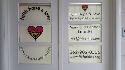 Indoor Window Decals Clings Racine Kenosha Milwaukee Wisconsin