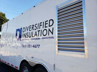 Diversified Insulation Trailer Decal Graphics Vinyl Commercial Business Racine Wisconsin