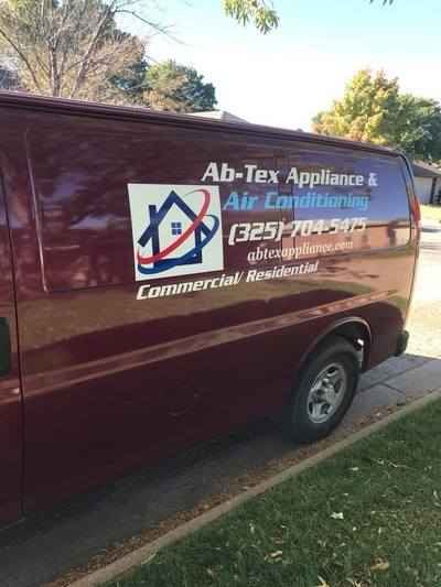 Plumbing Vehicle Graphics HVAC Appliance Air Conditioning Van Decals Cudahy Wisconsin