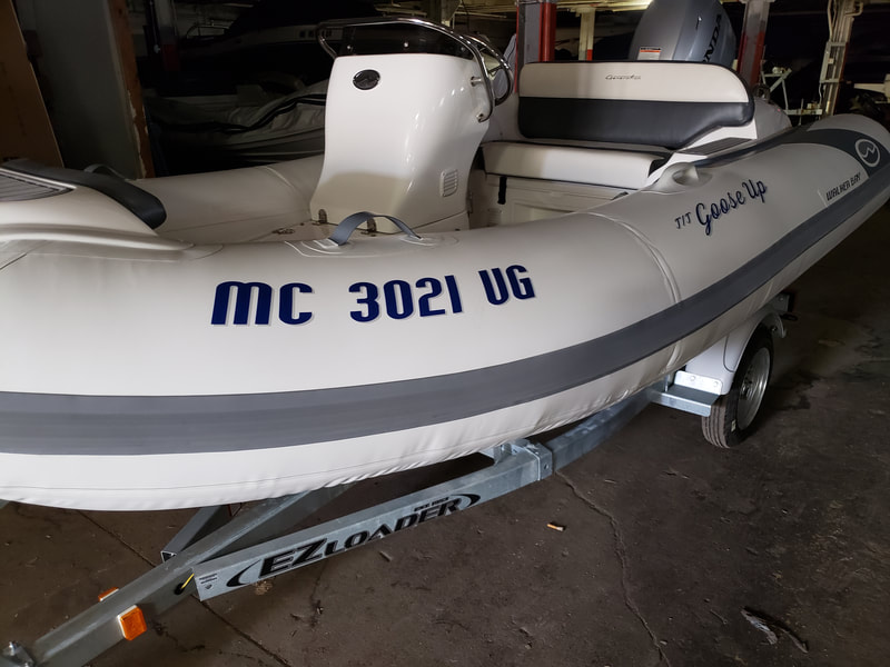 Inflatable Boat Name Racine Wisconsin Walker Bay
