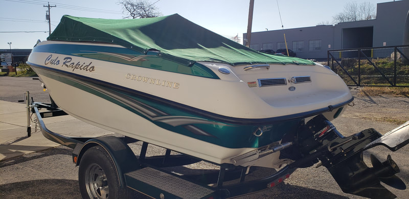 Boat Restoration OEM Decal Graphics Replacement Vinyl Wrap Racine Kenosha Wisconsin