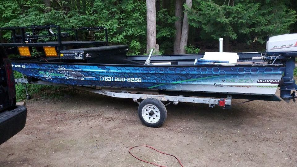 Boat Wrap Custom Personal Business Graphics Racine Wisconsin