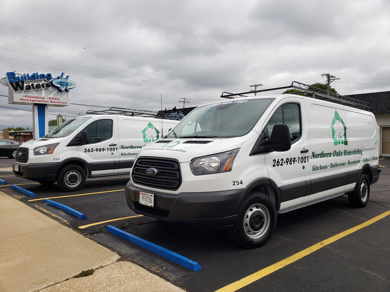 Kenosha Commerical Vehicle Graphics Decals Van Ford Transit Remodeling