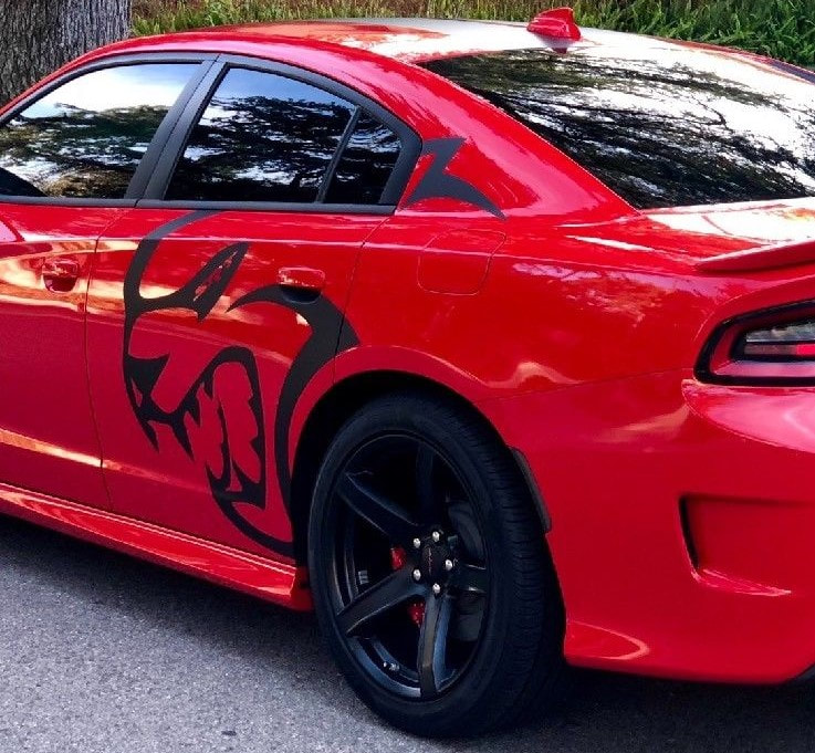 Hell Cat Side Decal Dodge Charger