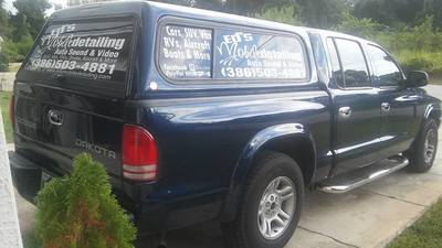 Pick Up Truck Window Lettering Commercial Business Decal Graphics Sturtevant Wisconsin
