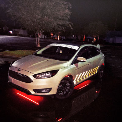 Line Reflective Decal Ford Distressed